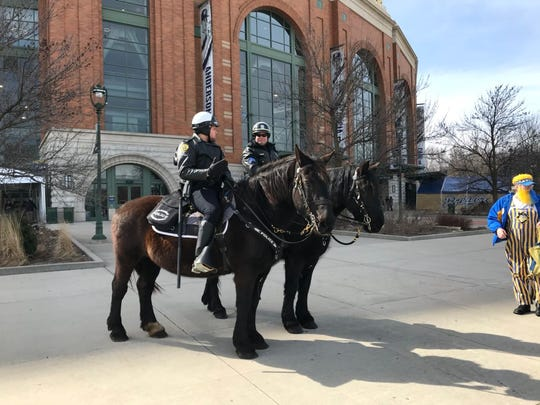 The Milwaukee Police Department uses horses for crowd control as well as positive community interactions.