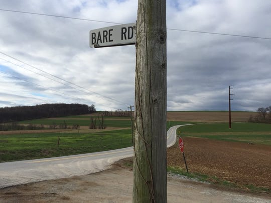 Furnace and Bare roads, Lower Chanceford Township, is where a man was found dead from gunshot wounds on Monday.