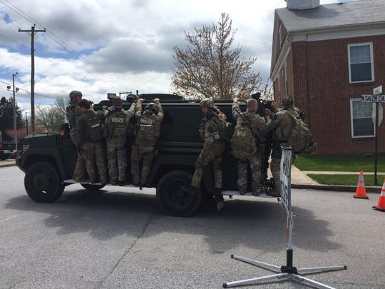 York County Quick Response Team members return from