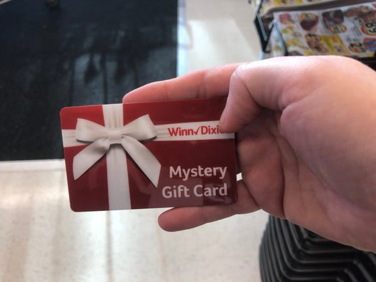 Gift cards were handed out to the first 500 shoppers