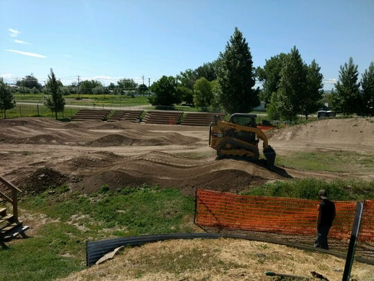 The Electric City BMX track is located at 1200 21st