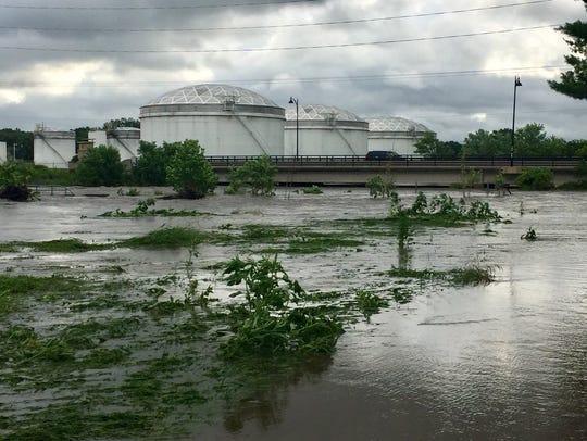 Walnut Creek flooding spread through low-lying areas
