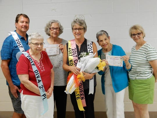 Annual TOPS OH 1487 winners are, from left, Phil Carstensen, Bonnie Legg, Cindy Fedor, Anne O'Malley, Karen Hull and Terry Ballash.