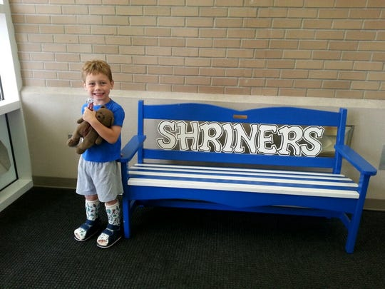 Grant Brumwell has spent much of his young life at the Shriners Hospital for Children in Spokane.