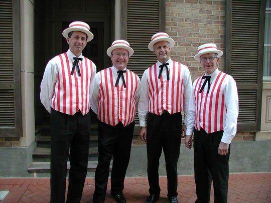 Brick Street Barbershop Quartet
