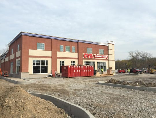 CVS Pharmacy is the first business in a recently reconfigured