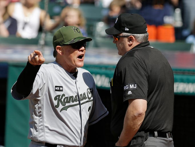 MLB player, manager ejections in 2017