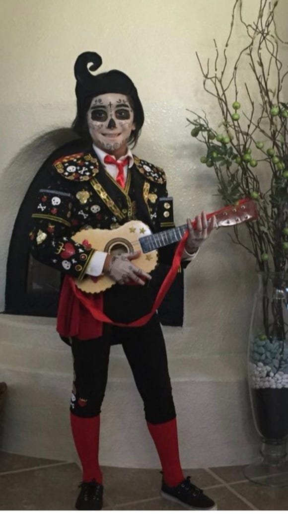 Demian Ramirez submitted this Halloween costume photo,