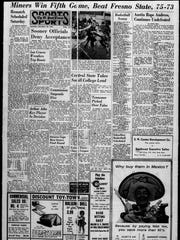 Sports front for Dec. 18, 1965.