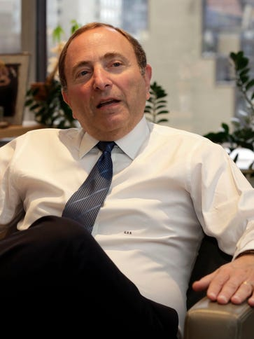 NHL Commissioner Gary Bettman is being requested to