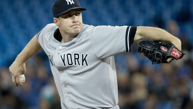Yankees rookie Chase Whitley allowed season highs of 11 hits and eight runs, and his 3 1/3 innings was the shortest of his eight outings.