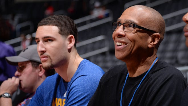 Former Lakers center Mychal Thompson said black fans should stay away from Game 5 in Warriors-Clippers series Tuesday at Staples Center.