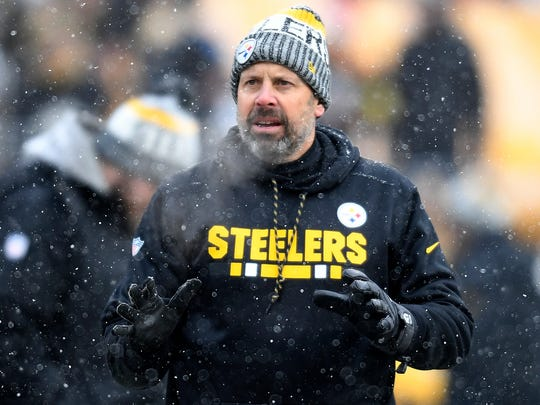 Former OC Todd Haley had been with the Steelers since 2012.