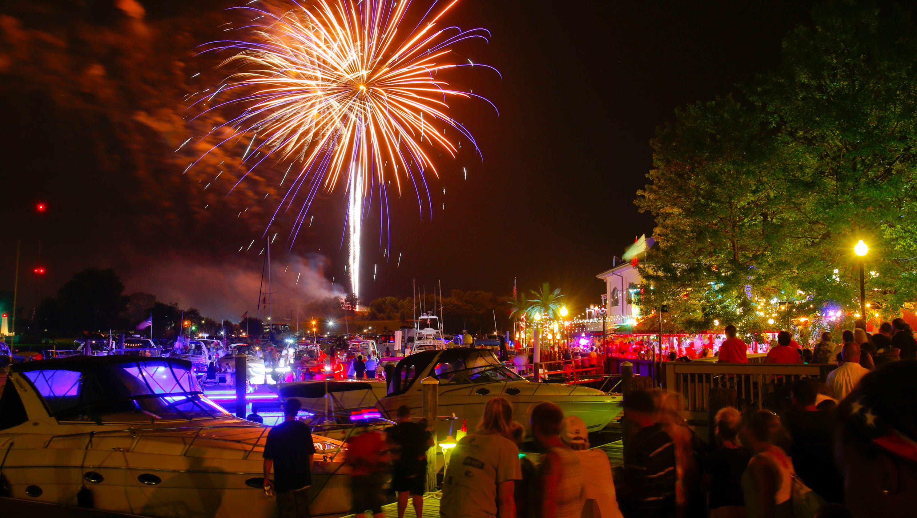 Chesapeake City Maryland Fireworks