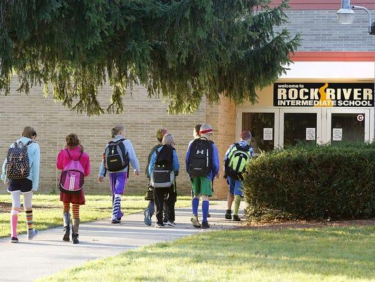 Rock River Intermediate School is one of the school