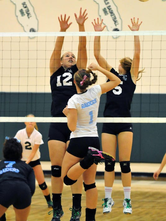 MEL HIGH VS ROCKLEDGE VOLLEYBALL