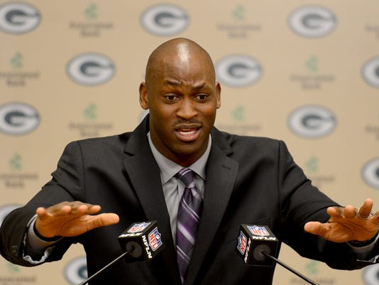 Kabeer Gbaja-Biamila Packers Hall of Fame