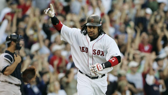 Manny Ramirez retired with 555 career home runs, 15th all-time.