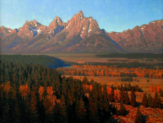 """""""Another September,"""" oil by Todd S. Matson, part of"""