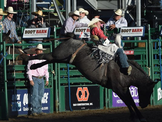 Reno Rodeo History Nevada Cowboy Wins Bull Riding Competition