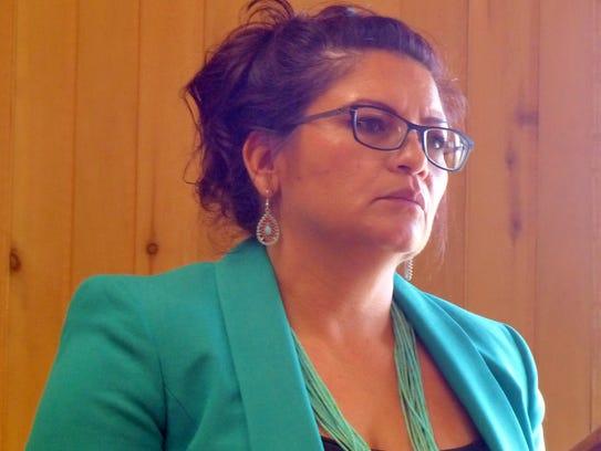 Ruidoso Village Finance Director Judy Starkovich went