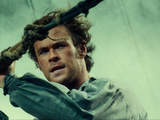 "The true story that inspired ""Moby Dick"" is directed by Ron Howard and stars Chris Hemsworth."