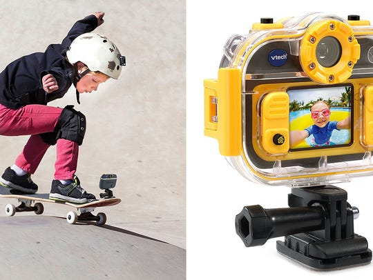 This camera can stand up to any kid's adventures