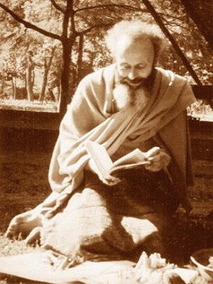 """Meditation on Marco is hosting a director's screening of """"Dawn of the Abyss: The Spiritual Birth of Swamiji"""" tonight at St. Mark's Episcopal Church. The film, directed by Fabrice Blee, explores the life of Henri Le Saux, his journey to India and his eventual metamorphosis into Swami Abhishiktananda."""
