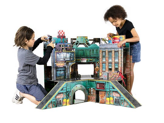 These 45 toys and products have earned the NAPPA seal of approval in 2017. Pictured is The Urban Playset.