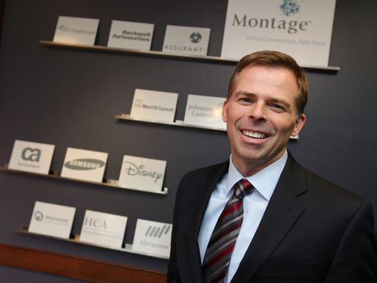 Kurt Heikkinen CEO of Montage, in the company's Delafield