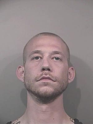 Brian Lakes, 28, was arrested Tuesday in connection with a vintage car and weapons that were stolen from the home of Johnson County Sheriff's Department Chief Deputy Randy Werden.