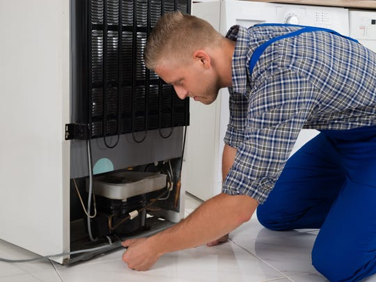 Make time to clean behind your refrigerator.