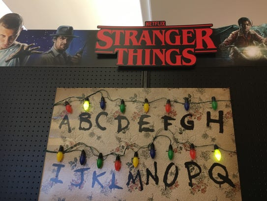 """Costumes based on """"Stranger Things,"""" the Netflix series,"""