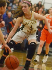 Pascack Valley junior guard Brianna Smith is averaging 18 points per game and has made 28 three-pointers for the undefeated Indians.