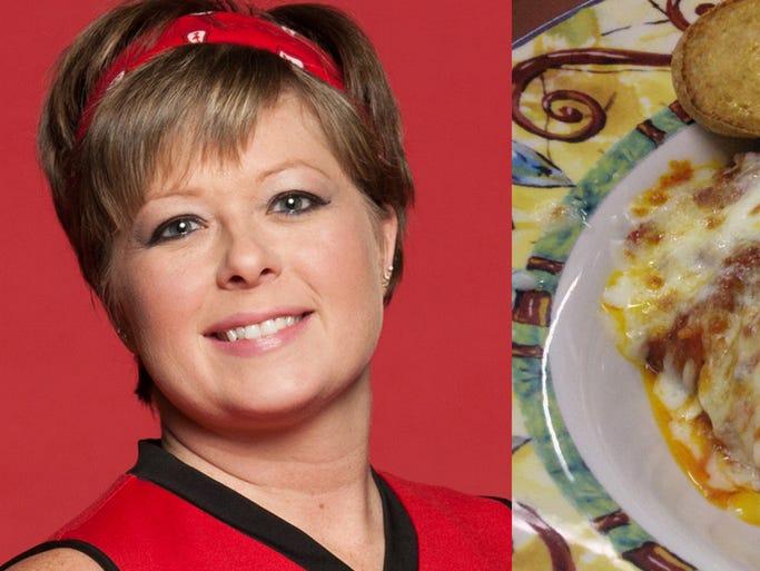 <b>Anvil SmashHerNasty (April Fetz): Baked Lasagna, Gramboli's Pizza</b>