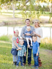Dr. Cody Hughes works at Valley Pediatric Dental and does dental work on all five of his children regularly.