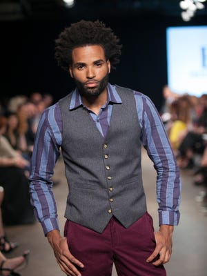 Eric Bornhop's Eric Adler Clothing collection at Nashville Fashion Week 2015.