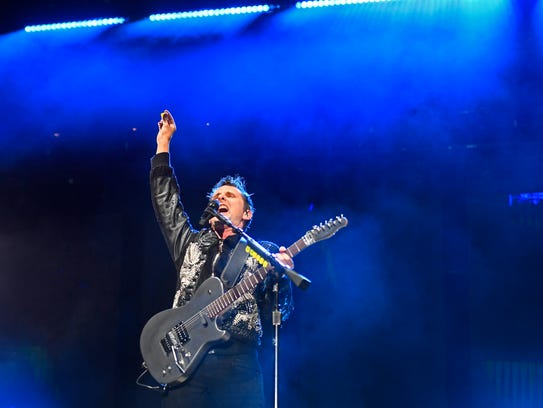 Muse were the headliners at the Bonnaroo Music and