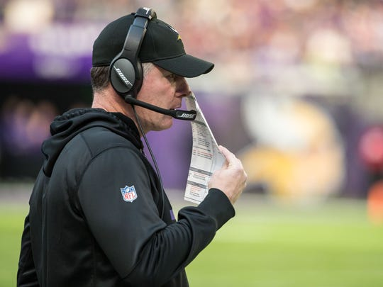 Pat Shurmur was the latest candidate to interview with