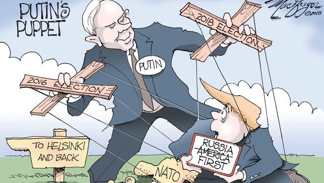 Is Trump Putin's puppet?