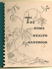 Cover of the Home Health Handbook, written by through the cooperative efforts of commune members, UVM doctors and interns, and the Burlington Ecumenical Action Council in 1971.