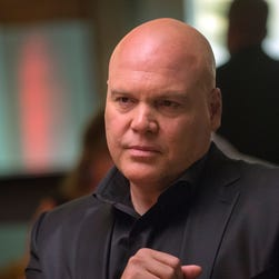 """Vincent D'Onfrio put on 30 pounds to play supervillain Wilson Fisk in """"Marvel's Daredevil."""""""