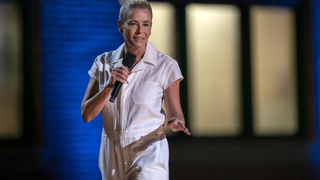 "Chelsea Hander appears in the comedy special ""Chelsea Handler: Evolution."""