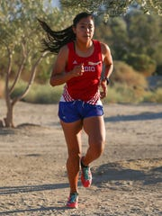 Marisa Rodriguez of Indio finishes second in the DVL