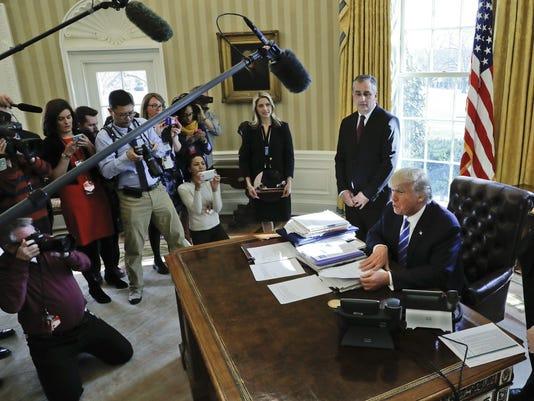 Donald Trump,Brian Krzanich