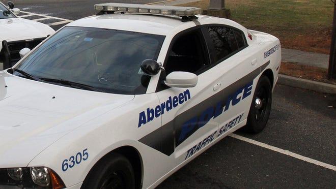 An Aberdeen police car