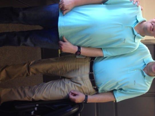 Bill Liberatore (right) with aMidland Work Center