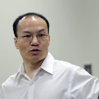 Zohn Wang Kub Yang appears in court Tuesday, Sept.