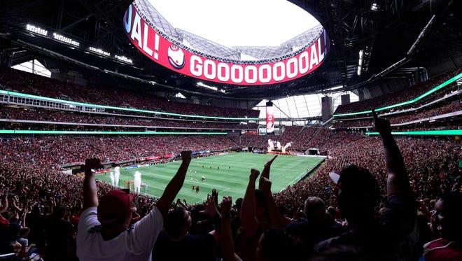 Atlanta United drew an MLS single-game record 71,874 fans to the regular-season finale at Mercedes-Benz Stadium.