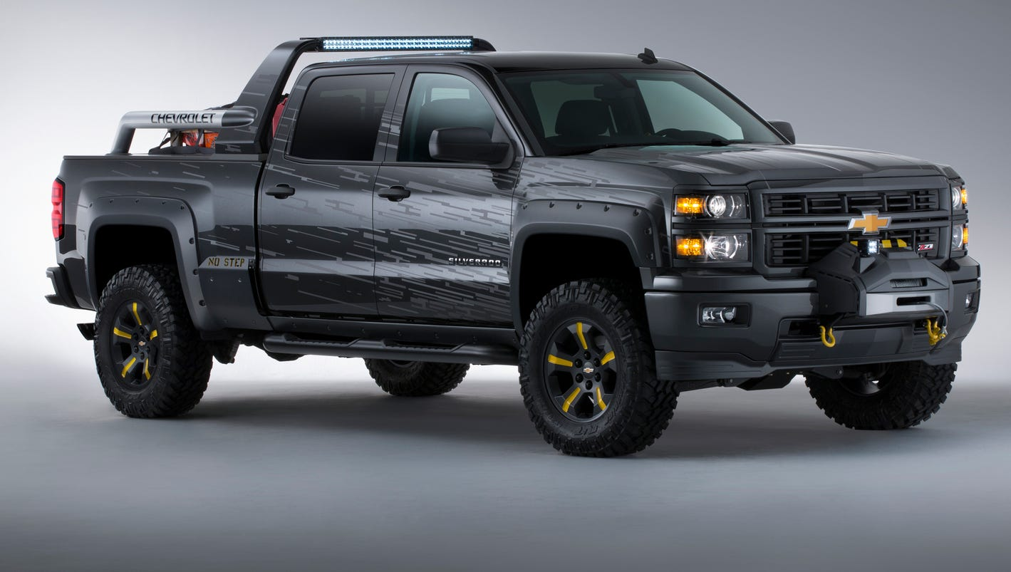 Silverado black 2012 chevy silverado : Chevrolet shows apocalyptic Black Ops Silverado